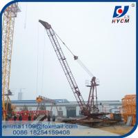 China QD1515 3 Tons Derrick Crane for Lifting Materials With Luffing Mechanism on sale