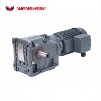 Buy cheap High Quality Wanshsin K Series Helical Transmission Speed Reducer Electric Bevel Gear Motor for Woodworking product
