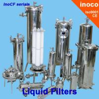 Buy cheap BOCIN Liquid Water / Oil Filtration Industrial Cartridge Filters , Flange Filter product
