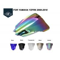 Buy cheap Aftermarket Motorcycle Parts Windscreen Wind Deflector , Windscreen Motorcycle Auto Parts For Yamaha product