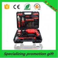 China Household Promotional Tool Kits Hand Tools Set With Screwdriver / Bits on sale