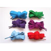 Buy cheap 54 Inch Flat Cotton Shoelaces / Flat Elastic Shoelaces For Running Shoe product