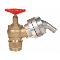 China Brass 2.5 Fire Hydrant Landing Valve OEM / ODM For Water Applications on sale