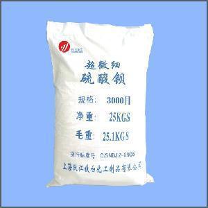 Buy cheap Super Fine Barium Sulfate (Barite) (3000 Mesh) product