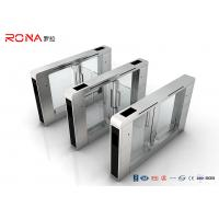 Buy cheap Stainless Steel Access Control Turnstile Gate DC Servo Motor With RFID Card Reader product