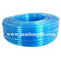 Buy cheap TPU air hose for pneumatic robot, clear blue color, 95A hardness product