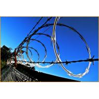BTO-10 BTO-12 Stainless Steel Concertina Razor Wire Corrosion Resistance