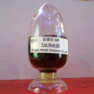 Buy cheap High fastness environment friendly Indanthrene Dye C I Vat red 13 Vat red 6B from wholesalers