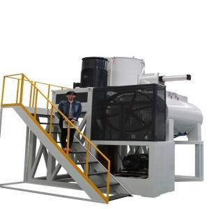 Buy cheap 1200kg/H Horizontal Spc Pvc Mixer Machine Plant product