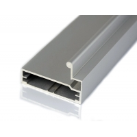 Buy cheap CNC Machined Anodized 6063 0.8-1.5mm thickness Aluminum Kitchen Cabinet Profiles product