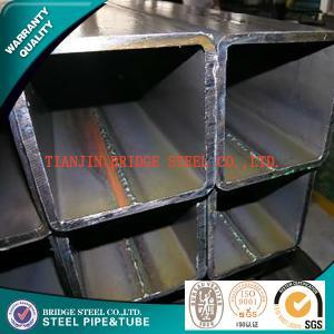 Buy cheap API K55 Square Steel Pipe , BS JIS GB ASME Rectangular Steel Tubes product