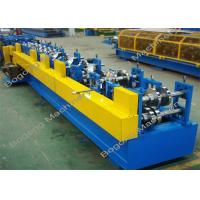Steel C / Z Purlin Roll Forming Machine Automatic Type With PLC Display