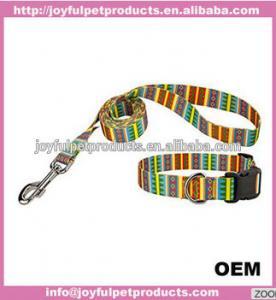 Buy cheap custom design fashion dog collar adjusatble nylon pet collar from wholesalers
