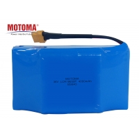Buy cheap 36V 4000mAh Cylinder Lithium Ion Battery , 18650 10s Li Ion Battery Pack product