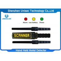 Buy cheap Security Body Checking Scanner , Hand Wand Metal Detector UMD150 Waterproof from wholesalers