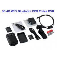 Buy cheap Remote Controller Police Body Worn Cameras For Police Officers With Black Color from wholesalers