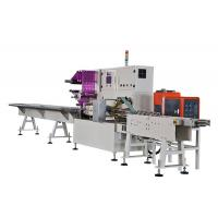 Buy cheap Full Servo Tissue Paper Packing Machine , Wallet Tissue Packaging Machine product
