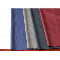 Buy cheap One Side Wool Coating Fabric 25% Viscose 35% Polyester For Dry Cleaning Dress product