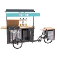 Buy cheap Electric Air Cooled Beer Scooter Cart Europe Style With Wooden Table product