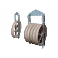Buy cheap 660mm Bundled Conductor Nylon Wheels Stringing Pulley from wholesalers