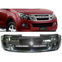 Buy cheap ISUZU D-MAX 2012 2013 2014 2015 OE Style Chromed Front Grille with Red Letters from wholesalers