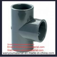 Buy cheap Sell High Quality PVC Pipe Fitting-PVC Plain Tee info@wanyoumaterial.com from wholesalers