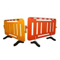 Buy cheap Lightweight Road Traffic Safety Plastic Water Filled Barriers 1060mm Height product