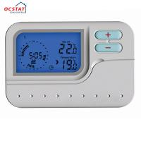 Buy cheap Stable Wireless Room Thermostat LED Blue Backlight Keypad Lockout from wholesalers