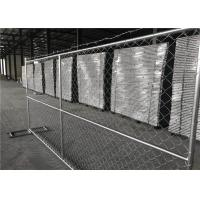 Buy cheap High quality galvanized 6ft x 12ft temporary chain link panels lightweight 11.5 gauge product