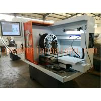 China low price small automatic wheel lathe cutting repair machine CK6160Q with laser probe on sale