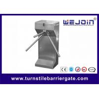Buy cheap 304 Stainless Steel Entry Turnstile Access Control Security Systems Automatic from wholesalers