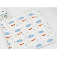 Buy cheap Factory Custom 2 Layers Muslin Soft Breathability Baby Cotton Washcloth Face  Long Life Time product