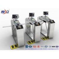 Buy cheap TCP / IP Door Security Access Control Turnstiles RFID Automatic Tripod Turnstile Gate product