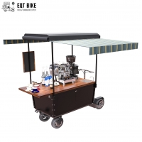 Buy cheap Multifunctional Electric Street Coffee Vending Cart With 48V Battery from wholesalers