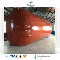Buy cheap Biogas plant Anaerobic fermentation tank biogas digester with double membrane gas holder gas storage bag product