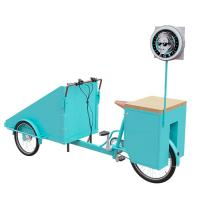 Buy cheap Easy Cleaning Stainless Steel Scooter Vending Cart Customized Brand Logo product