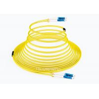 Buy cheap FTTH LC - LC SM DX Glass Fiber Optic Cable Patch Cord 1m 3m 5m Length product