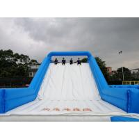 Buy cheap Outdoor commercial adult gaint inflatable obstacle course kids bouncer castle with blowers PO-0522 product