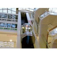 Buy cheap High Quality High Speed Elevator Full Glass Sightseeing Panoramic Elevator from wholesalers
