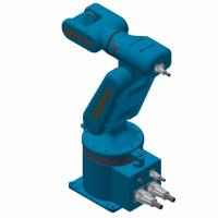 Buy cheap Customized Color Industrial Robotic Arm 3kg - 80kg Payload Easy Maintenance from wholesalers