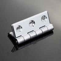 Zinc Alloy Electronic Accessory Metal Door Hinge Rotaing 270 Chrome Plated