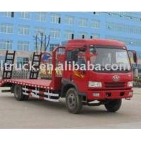 China Faw Jiefang Flat Bed Truck on sale
