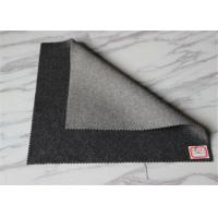 Buy cheap Light / Medium Grey Coating Wool Fabric Overcoat Winter Smooth Warm In Stock product