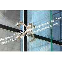 China Point Fixed Glass System Curtain Walls Cable Tensioned Façade Supporting Starglass System on sale