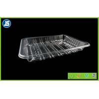 Buy cheap Biodegradable Clear Plastic Food Packaging Trays With Compartments product