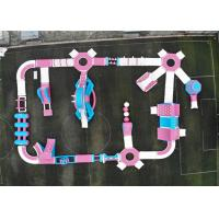 Buy cheap Professioanl Inflatable Floating Water Park , Water Amusement Park Obsatcle Course product