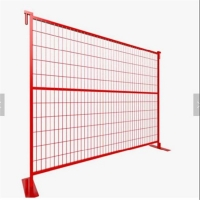 Buy cheap Powder Coated Galvanized Temporary Safety Fence product