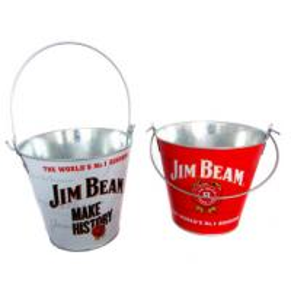 Buy cheap Durable Galvanized Metal Buckets Mini galvanized metal beer cooler ice bucket from wholesalers