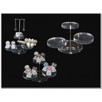 Buy cheap Clear Brilliant Acrylic Jewellery Display Stands For Earring Display product