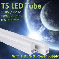 110V 220V 240V 55cm 30cm 6W/10W T5 Warm Cold White led fluorescent LED Tube